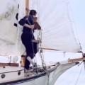 Truman erreicht mit dem Segelboot die Grenze seiner Welt