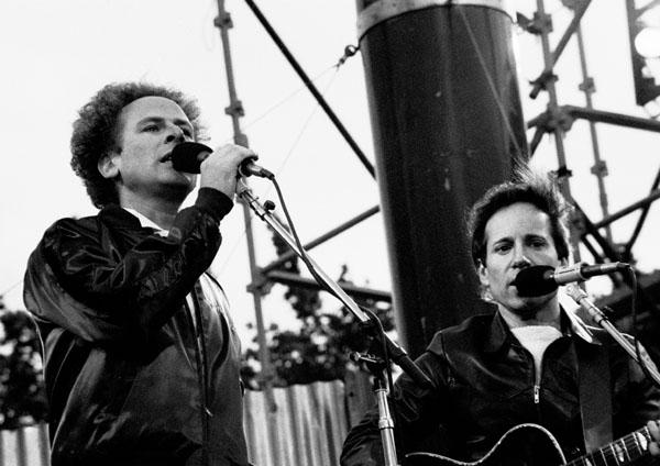 Simon and Garfunkel in Dublin