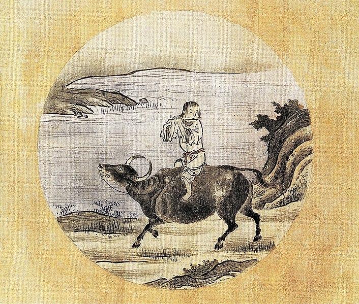 Die Heimkehr auf dem Rücken des Ochsen