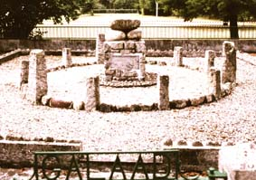 Das Monument Galaad in Ussat-les-Bains