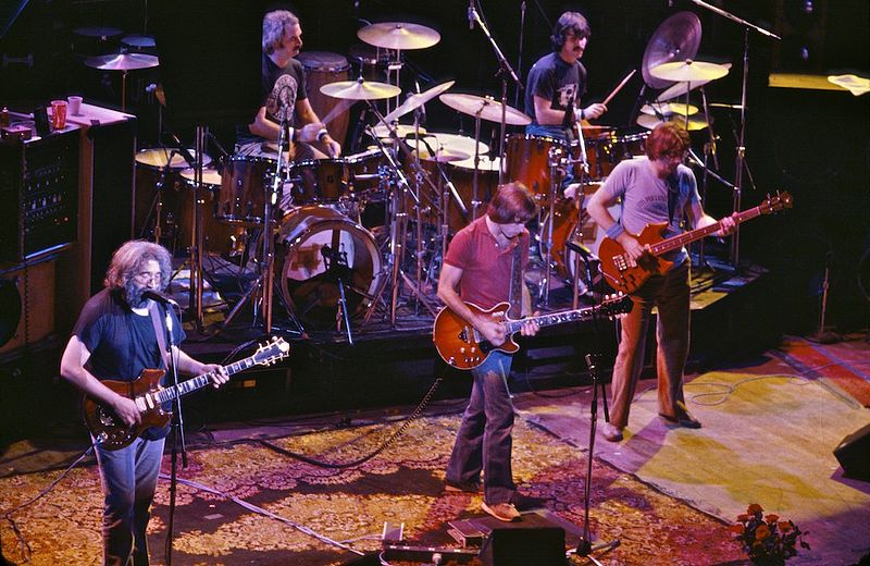 Grateful Dead 1980 in San Francisco