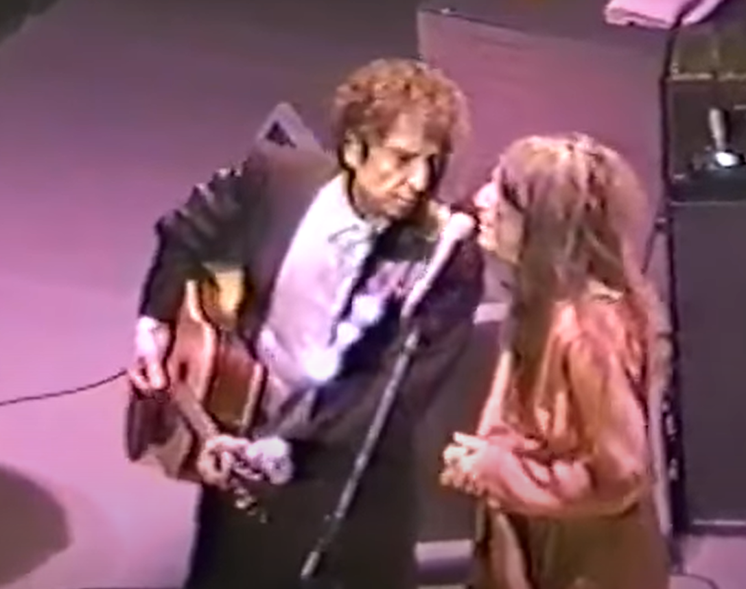 Bob Dylan und Patti Smith: Dark Eyes, 1995 in New York